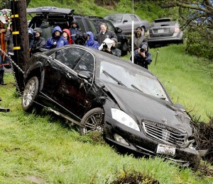 Back in June 2010, Sheen's Mercedes Benz was stolen and plunged over the side of a cliff -- for the second time that year. Los Angeles Police Department officials say that a security guard spotted the luxury car about 100 feet over the side of a cliff on Mulholland Drive just before 3 a.m. on June 15. Officials ran the plates and found the car was registered to Charlie Sheen.  When police contacted the actor, he said he didn't know the car had been missing. The last time he saw his vehicle was at 4 p.m. that Monday afternoon. It turns out Sheen had left his keys in the car, just like he did four months earlier when his Mercedes was found upside-down at the bottom of a ditch in the same area.